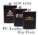 PU Leather Hip Flask